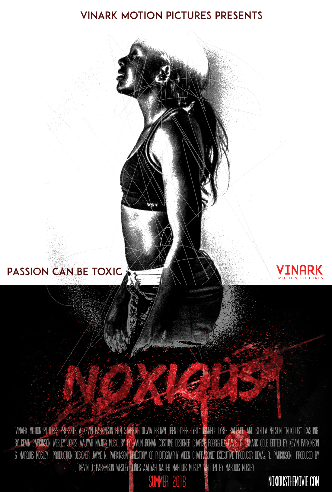 Official Noxious Poster